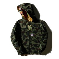 Bape Shark Head Camouflage Double Sided Windbreaker M ~ 2xl | Best Deal Online