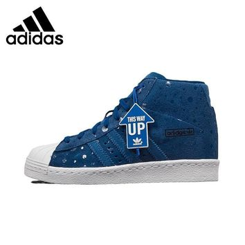 Original New Arrival Adidas Originals Superstar Women's High Top Skateboarding Shoes