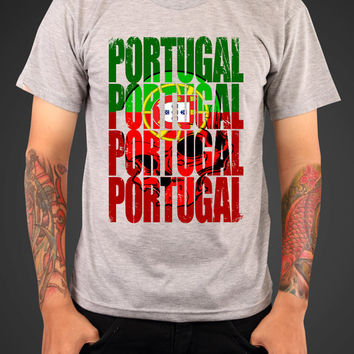 PORTUGAL T-shirt tee Shirt World Cup soccer benfica United States Pride Olympic Team  support porto Mens Ladies swag MLG-1009