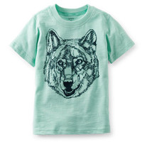 Hand-Drawn Wolf Graphic Tee