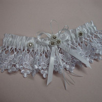 Garter, Lace garter, wedding garter