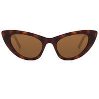 Saint Laurent Lily in Avana & Brown
