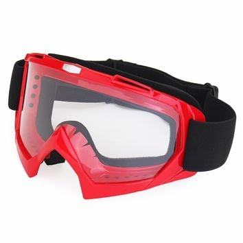 Mofaner Motorcross Off-Road Racing Goggles Windproof Ski Glasses UV Eyewear For Cycling Snowboard Goggles Clear PC Lens