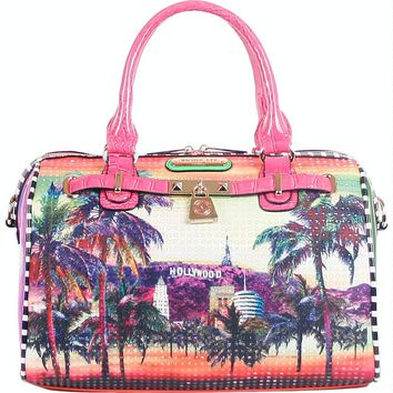 Nicole Lee Hollywood Hologram Print Boston Bag - eBags.com