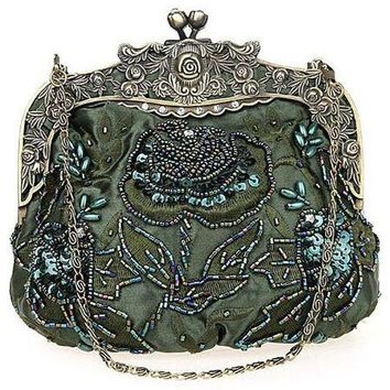 Victorian Era Beaded Purse - 7 Colors