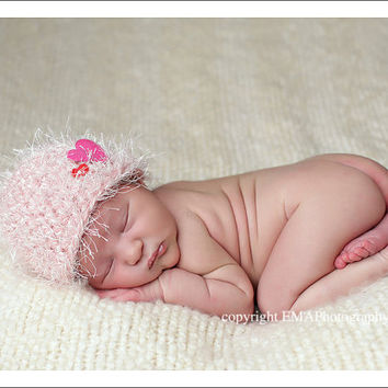 Newborn Crochet Hats Crocheted Newborn Hat Baby by knoodleknits