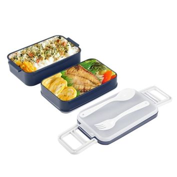 Double Layer Microwave Food Storage Containers