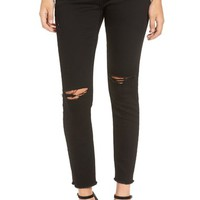 BLANKNYC Ripped Ankle Skinny Jeans (Crazy Train) | Nordstrom