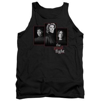 The Good Fight Tanktop Cast Headshots Black Tank