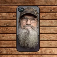iphone 4 case,iphone 4s case-Duck Dynasty,in plastic or silicone case
