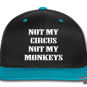 Not My Circus Not My Monkeys Snapback