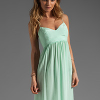 Amanda Uprichard Silk Gown in Sherbert from REVOLVEclothing.com