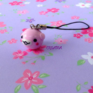 Kawaii mamegoma chubby seal phone charm anime cute japanese keychain