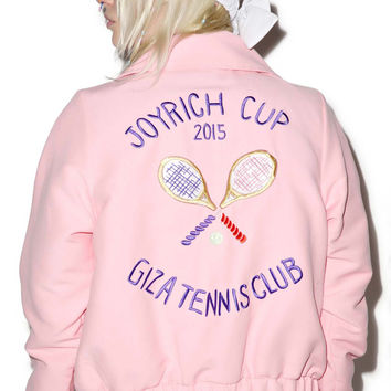 Joyrich Giza Tennis Club Cropped Jacket