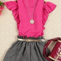 A 071922 Fashion was thin piece shorts803 from cassie2013
