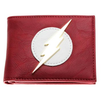 The Flash Vintage Logo Wallet - Billfold