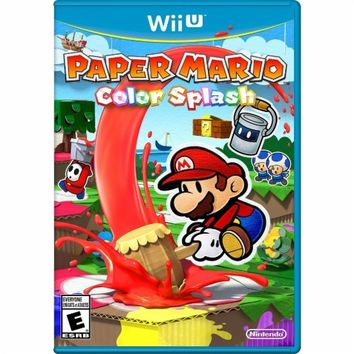 Paper Mario: Color Splash - Nintendo Wii U