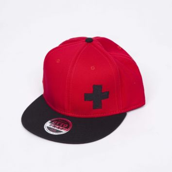Ed Sheeran Webstore - Big Plus Snapback Hat (Red)