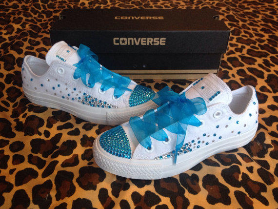 Quinceanera Shoes Converse Ombre
