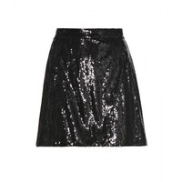dolce & gabbana - sequined skirt