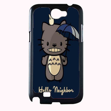 kitty totoro FOR SAMSUNG GALAXY NOTE 2 CASE**AP*