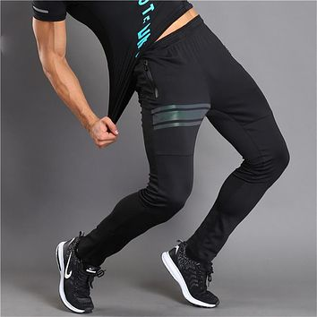 Sweatpants For Men Skinny Black Zipper Cuff Mens Joggers Harem Pants Bodybuilding Fitness Men's Track Pants Casual Trousers Male