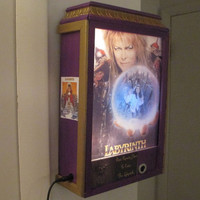 The Labyrinth Magical Lamp * Automatic Remote Controlled Wall Lamp With Audio * OOAK