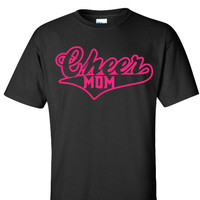 Mom Cheer Shirt, Cheerleader Mom Shirt