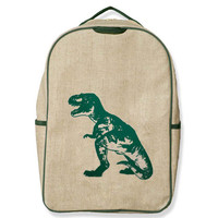 SOYOUNG PINK GREEN DINOSAUR GS BACKPACK