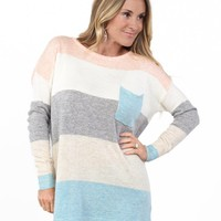 Pastel Knit Sweater | S-XL