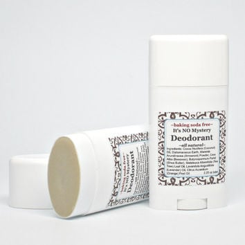 Organic Deodorant Stick, Baking Soda Free Natural Homemade Deodorant for Sensitive Skin, Gluten Free, Paraben and Aluminum Free Deodorant