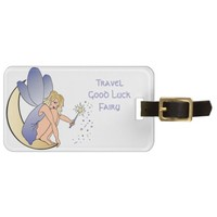 Traveling Good Luck Fairy Bag Tag