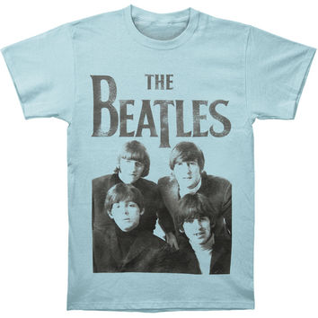 Beatles Men's  The Beatles Vintage T-shirt Blue Rockabilia