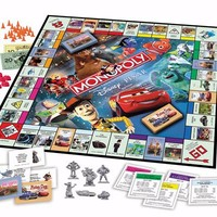 Monopoly Disney Pixar Edition | Board Games for ages 8 & Up | Hasbro