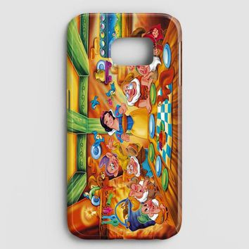 Snow Ariel And Alice Punk Tattoos Disney Princess Samsung Galaxy S7 Case