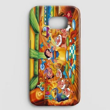 Snow Ariel And Alice Punk Tattoos Disney Princess Samsung Galaxy S7 Edge Case