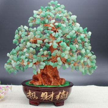Crystal Money Bonsai Tree Style