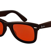Ray-Ban RB2140QM 50 WAYFARER LEATHER Sunglasses 50mm