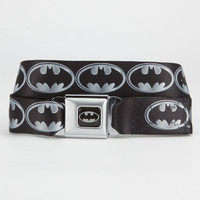 Buckle-Down Batman Buckle Belt Black/Grey One Size For Men 23309512701