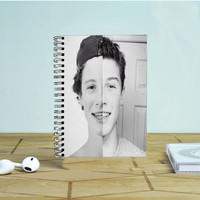 Shawn Mendes Pose Photo Notebook Auroid