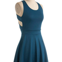 Fox-Trot Lessons Dress | Mod Retro Vintage Dresses | ModCloth.com