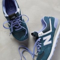 New Balance 574 Sneakers Purple Motif
