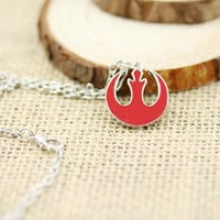 New Star Wars Rebel Alliance Statement Necklace