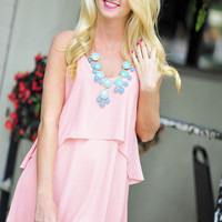 Don't Shed A Tear Dress: Pale Pink   Hope's