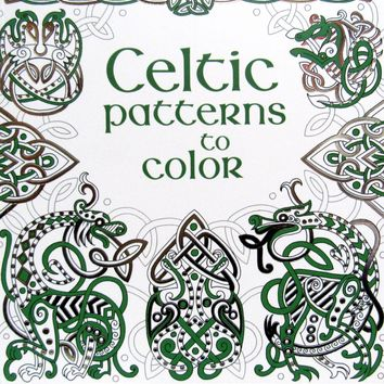 Celtic Patterns to Color Paperback