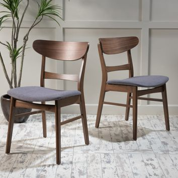 Helen Mid Century Modern Dining Chair (Set of 2)