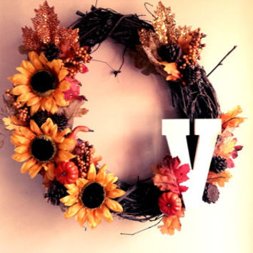 Fall Grapevine Wreaths- Custom, made to order!