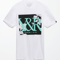 Young & Reckless Folded T-Shirt - Mens Tee - White
