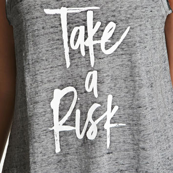 Active Take A Risk Graphic Tank
