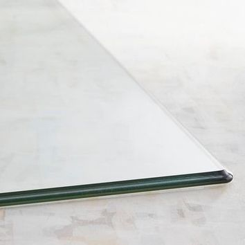 Rectangle Tempered Glass Table Top